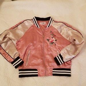 Jackets & Blazers - SATIN EMBROIDERED JACKET